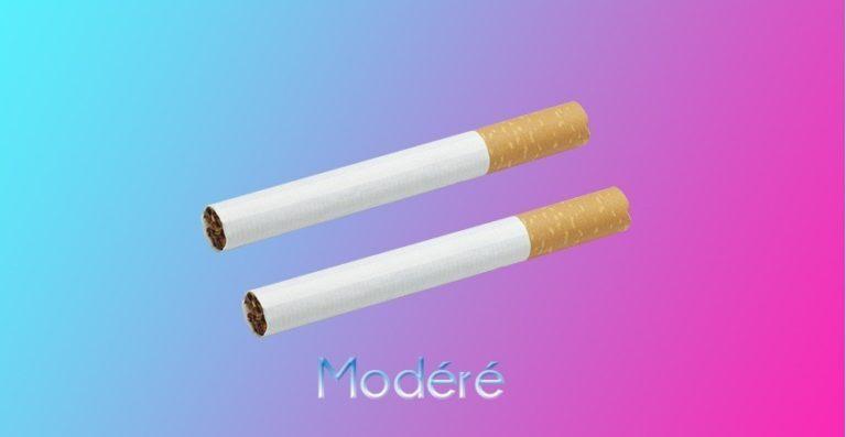 Fumeur modere.